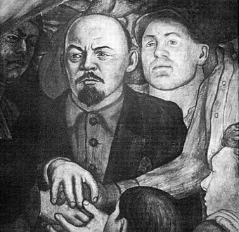 Scripted wars towers of power for Diego rivera lenin mural